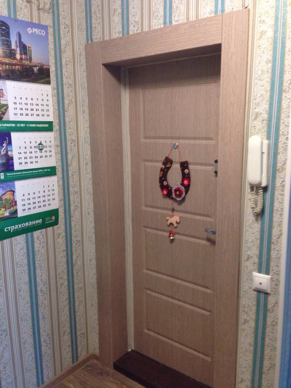 обшивка панелями мдф входных металлических дверей в спб